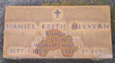 HELVERN, DANIEL KEITH - Umatilla County, Oregon | DANIEL KEITH HELVERN - Oregon Gravestone Photos