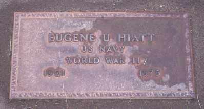 HIATT (WWII), EUGENE U - Umatilla County, Oregon   EUGENE U HIATT (WWII) - Oregon Gravestone Photos
