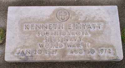 HYATT (WWII), KENNETH E - Umatilla County, Oregon | KENNETH E HYATT (WWII) - Oregon Gravestone Photos