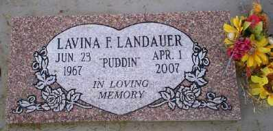 LANDAUER, LAVINA F - Umatilla County, Oregon | LAVINA F LANDAUER - Oregon Gravestone Photos