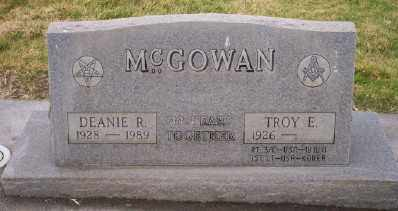 MCGOWAN, TROY E - Umatilla County, Oregon | TROY E MCGOWAN - Oregon Gravestone Photos