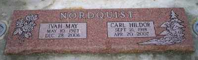 NORDQUIST, CARL HILDOR LOUIS - Umatilla County, Oregon | CARL HILDOR LOUIS NORDQUIST - Oregon Gravestone Photos