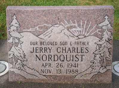 NORDQUIST, JERRY CHARLES - Umatilla County, Oregon | JERRY CHARLES NORDQUIST - Oregon Gravestone Photos