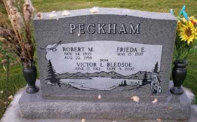 BLEDSOE, VICTOR L - Umatilla County, Oregon | VICTOR L BLEDSOE - Oregon Gravestone Photos
