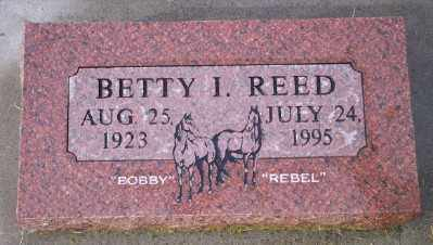 REED, BETTY I - Umatilla County, Oregon | BETTY I REED - Oregon Gravestone Photos