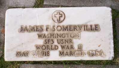 SOMERVILLE (WWI), JAMES E - Umatilla County, Oregon | JAMES E SOMERVILLE (WWI) - Oregon Gravestone Photos