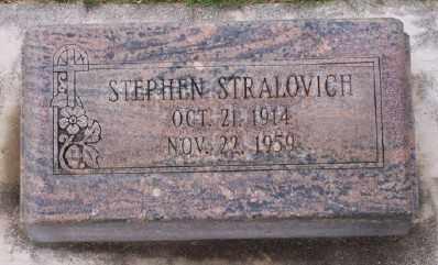 STRALOVICH, STEPHEN - Umatilla County, Oregon | STEPHEN STRALOVICH - Oregon Gravestone Photos