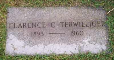 TERWILLIGER, CLARENCE C - Umatilla County, Oregon   CLARENCE C TERWILLIGER - Oregon Gravestone Photos