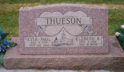 THUESON, KYLE PAUL - Umatilla County, Oregon   KYLE PAUL THUESON - Oregon Gravestone Photos