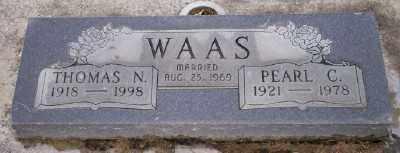 WAAS, THOMAS N - Umatilla County, Oregon | THOMAS N WAAS - Oregon Gravestone Photos