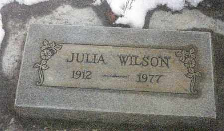 WALLEN WILSON, JULIA - Umatilla County, Oregon | JULIA WALLEN WILSON - Oregon Gravestone Photos