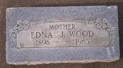 WOOD, EDNA J - Umatilla County, Oregon   EDNA J WOOD - Oregon Gravestone Photos