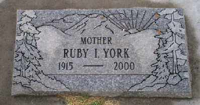 RICHARDSON YORK, RUBY IDA - Umatilla County, Oregon | RUBY IDA RICHARDSON YORK - Oregon Gravestone Photos