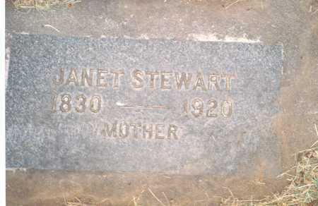 STEWART, JANET FENWICK - Wasco County, Oregon | JANET FENWICK STEWART - Oregon Gravestone Photos