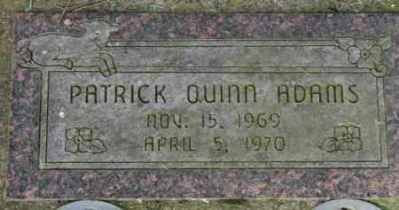ADAMS, PATRICK QUINN - Washington County, Oregon | PATRICK QUINN ADAMS - Oregon Gravestone Photos
