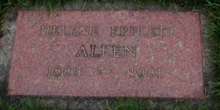ALLEN, HELENE - Washington County, Oregon | HELENE ALLEN - Oregon Gravestone Photos
