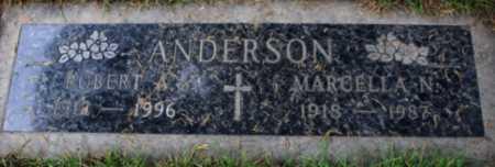 ANDERSON, MARCELLA N - Washington County, Oregon | MARCELLA N ANDERSON - Oregon Gravestone Photos