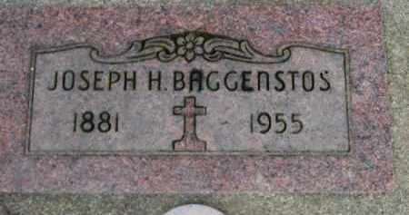 BAGGENSTOS, JOSEPH H. - Washington County, Oregon | JOSEPH H. BAGGENSTOS - Oregon Gravestone Photos