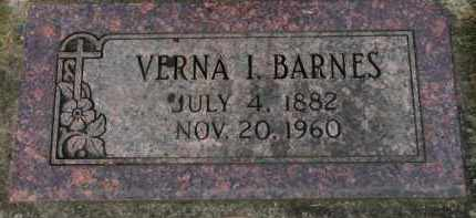 BARNES, VERNA I. - Washington County, Oregon | VERNA I. BARNES - Oregon Gravestone Photos
