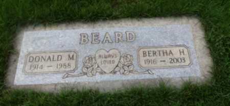 BEARD, BERTHA H - Washington County, Oregon | BERTHA H BEARD - Oregon Gravestone Photos