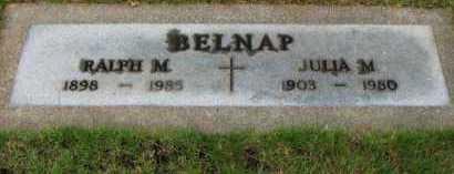 BELNAP, JULIA M. - Washington County, Oregon   JULIA M. BELNAP - Oregon Gravestone Photos