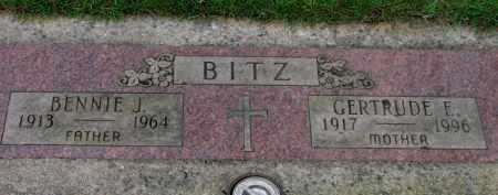 BITZ, GERTRUDE E. - Washington County, Oregon | GERTRUDE E. BITZ - Oregon Gravestone Photos