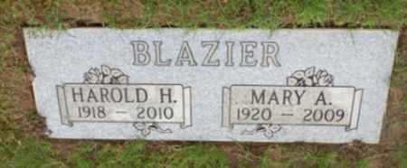 BLAZIER, HAROLD H - Washington County, Oregon | HAROLD H BLAZIER - Oregon Gravestone Photos