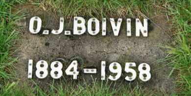 BOIVIN, O. J. - Washington County, Oregon   O. J. BOIVIN - Oregon Gravestone Photos