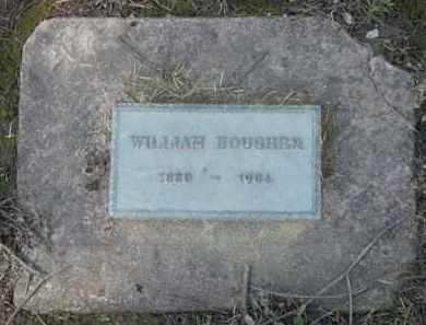 BOUGHER, WILLIAM - Washington County, Oregon   WILLIAM BOUGHER - Oregon Gravestone Photos