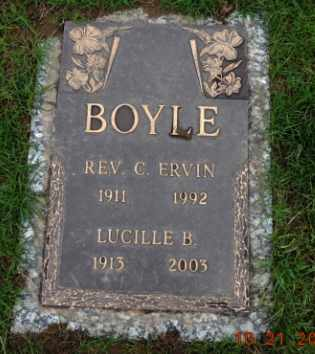 BOYLE, C ERVIN - Washington County, Oregon | C ERVIN BOYLE - Oregon Gravestone Photos