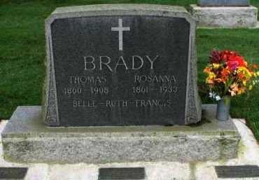 BRADY, RUTH - Washington County, Oregon | RUTH BRADY - Oregon Gravestone Photos