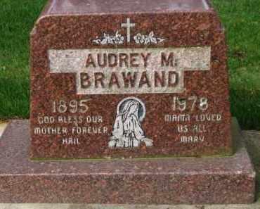 BRAWAND, AUDREY M. - Washington County, Oregon   AUDREY M. BRAWAND - Oregon Gravestone Photos