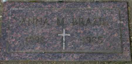 BRAZIL, ANNA M. - Washington County, Oregon | ANNA M. BRAZIL - Oregon Gravestone Photos