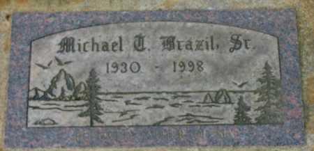 BRAZIL, MICHAEL T. SR. - Washington County, Oregon   MICHAEL T. SR. BRAZIL - Oregon Gravestone Photos