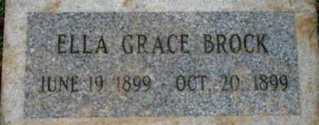 BROCK, ELLA GRACE - Washington County, Oregon | ELLA GRACE BROCK - Oregon Gravestone Photos