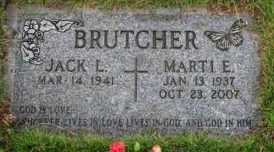 BRUTCHER, MARTI E. - Washington County, Oregon   MARTI E. BRUTCHER - Oregon Gravestone Photos