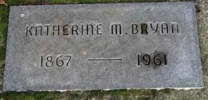 BRYAN, KATHERINE M. - Washington County, Oregon | KATHERINE M. BRYAN - Oregon Gravestone Photos