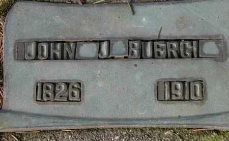 BUERGI, JOHN J - Washington County, Oregon   JOHN J BUERGI - Oregon Gravestone Photos