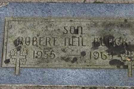 BURCK, ROBERT NEIL - Washington County, Oregon | ROBERT NEIL BURCK - Oregon Gravestone Photos