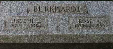 BURKHARDT, JOSEPH J. - Washington County, Oregon | JOSEPH J. BURKHARDT - Oregon Gravestone Photos