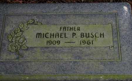 BUSCH, MICHAEL P. - Washington County, Oregon   MICHAEL P. BUSCH - Oregon Gravestone Photos