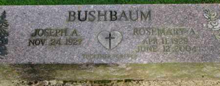 BUSHBAUM, JOSEPH A. - Washington County, Oregon | JOSEPH A. BUSHBAUM - Oregon Gravestone Photos