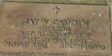 CAMDEN, JAY V. - Washington County, Oregon | JAY V. CAMDEN - Oregon Gravestone Photos