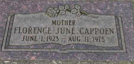 CAPPOEN, FLORENCE JUNE - Washington County, Oregon   FLORENCE JUNE CAPPOEN - Oregon Gravestone Photos