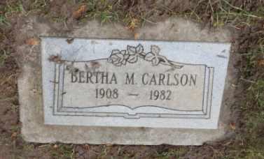 CARLSON, BERTHA M - Washington County, Oregon | BERTHA M CARLSON - Oregon Gravestone Photos