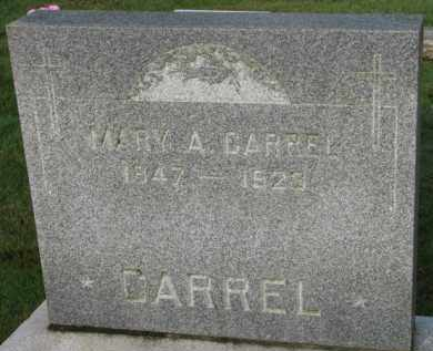 CARREL, MARY A. - Washington County, Oregon   MARY A. CARREL - Oregon Gravestone Photos