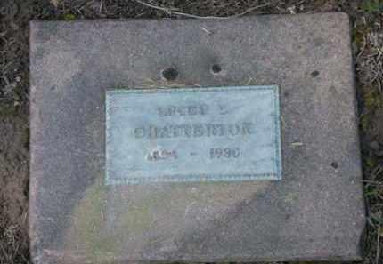 CHATTERTON, LUCEY D. - Washington County, Oregon | LUCEY D. CHATTERTON - Oregon Gravestone Photos