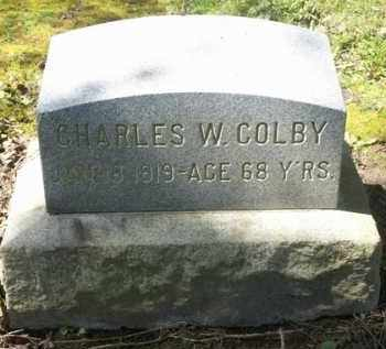 COLBY, CHARLES W. - Washington County, Oregon | CHARLES W. COLBY - Oregon Gravestone Photos