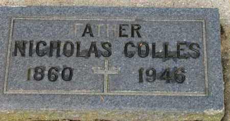 COLLES, NICHOLAS - Washington County, Oregon | NICHOLAS COLLES - Oregon Gravestone Photos