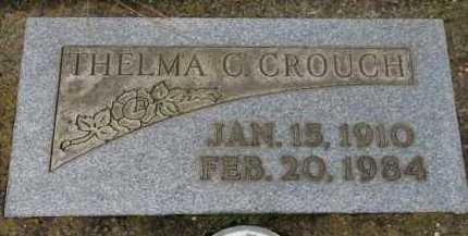 CROUCH, THELMA C. - Washington County, Oregon | THELMA C. CROUCH - Oregon Gravestone Photos